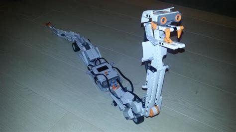 tutorial lego mindstorms nxt 2 0 fan creates nxt version of ev3 snake robotsquare