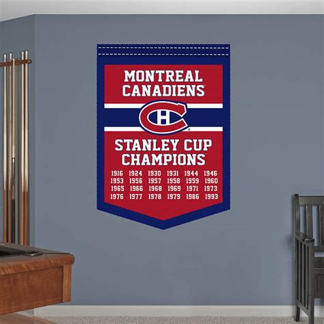 chionship banner template montreal canadiens stanley cup chions banner fathead
