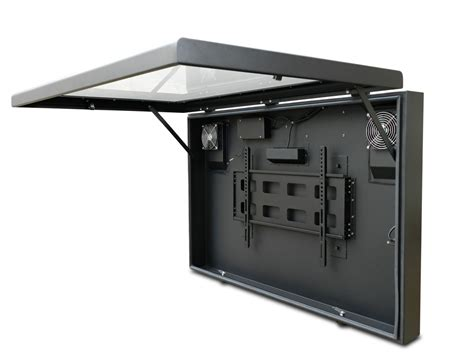 outdoor tv cabinets for flat screens weatherproof tv case pictures to pin on pinterest pinsdaddy