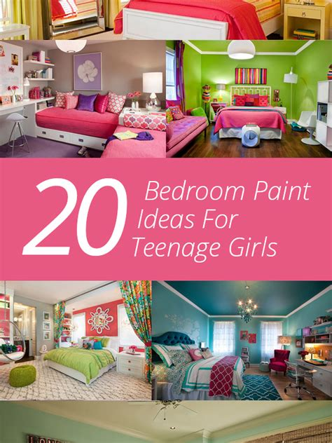 20 Bedroom Paint Ideas For Teenage Girls Home Design Lover | 20 bedroom paint ideas for teenage girls home design lover