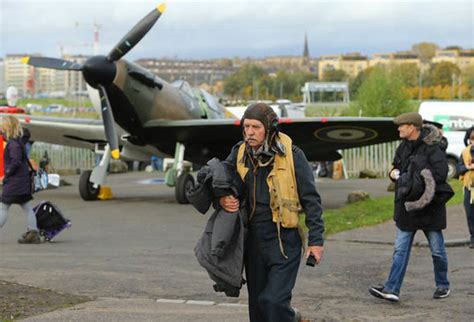 David Blaines Great Escape Again by Spitfire Makes Its Great Escape Uk News Express Co Uk