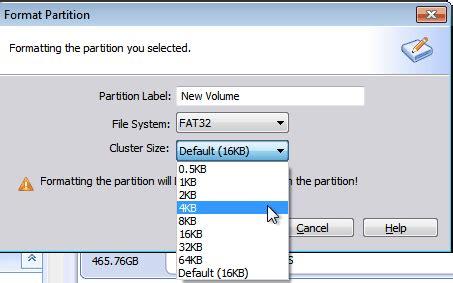 diskpart format ntfs cluster size best intenso usb stick format tool in windows