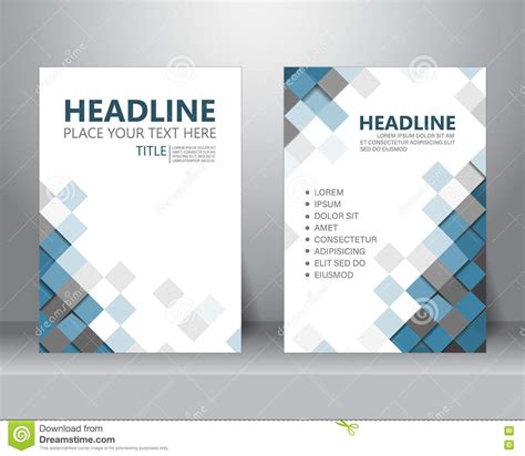 layout flyer templates brochure flyer design template vector stock vector