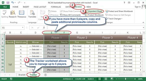 13 Run Pool Spreadsheet by How To Use Excel To Manage March Madness Going Concern