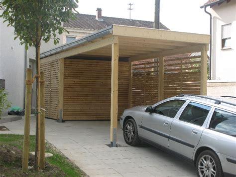 carport mit gerätehaus carport wachter holz fensterbau wintergarten