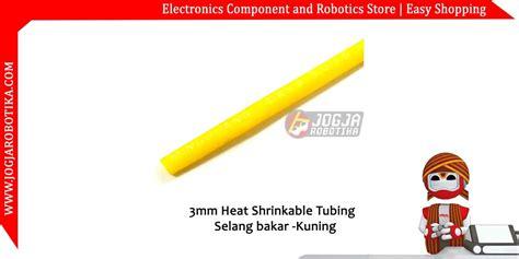 Led 3mm 3 Mm Warna Yellow Kuning Baru jual 3mm heat shrinkable tubing selang bakar kuning