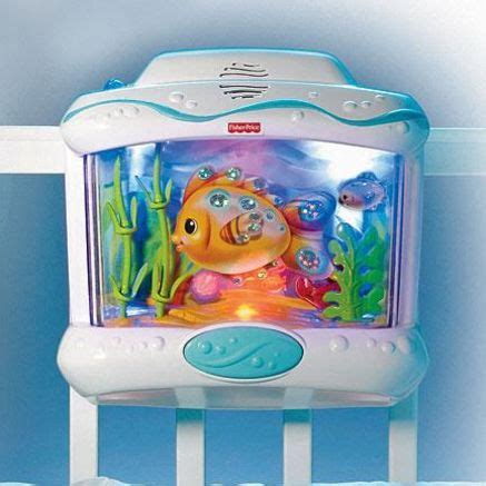 Crib Aquarium With Remote by Fisher Price 174 Wonders Aquarium With Remote