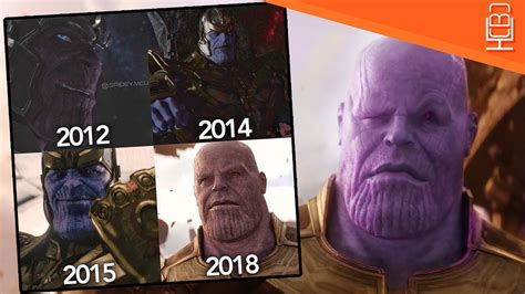 why are different colors why is thanos different colors in the mcu