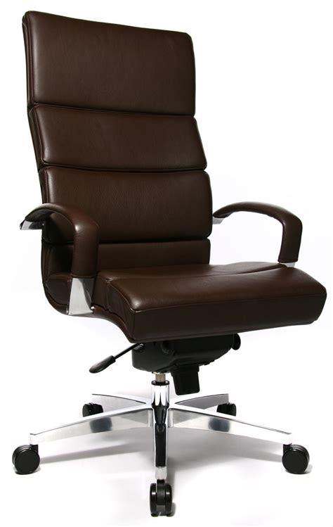 fauteuil bureau marron fauteuil de bureau cuir marron clair