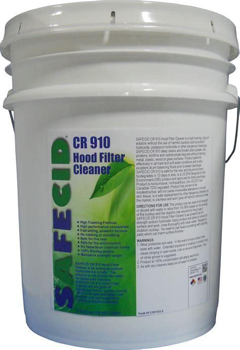 SAFECID CR910 High Foam Degreaser 5 Gallon Container