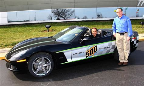 30th anniversary corvette 2008 chevrolet corvette 30th anniversary pace car image