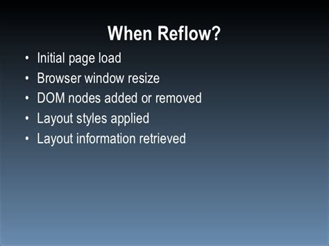 javascript reflow layout speed up your javascript