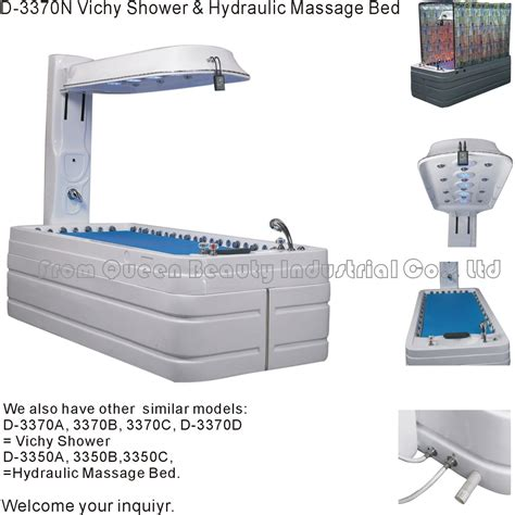 What Is Table Shower by China Hydraulic Table Witn Vichy Shower Spa