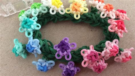 triangle pattern loom bracelet requested video triangle flower bracelet on the