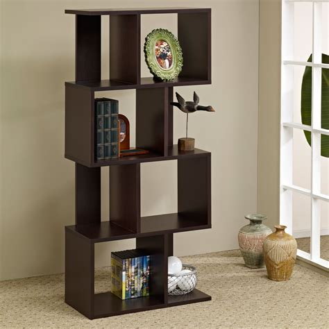 ecleste bookcase room divider bookcases at hayneedle