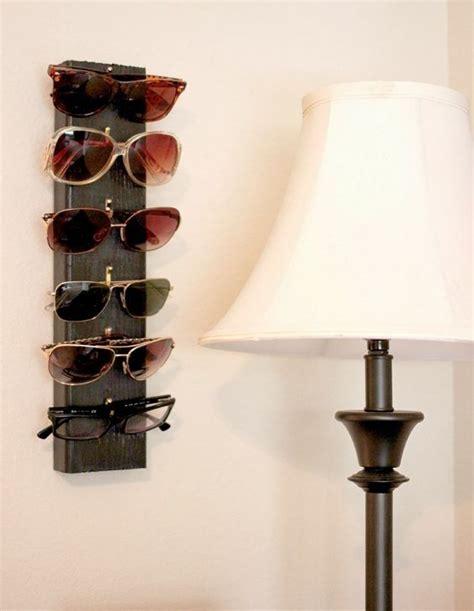 top diy wall organizer ideas begginers sunglasses