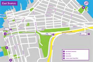 Boston Google Map by East Boston The Landscape Architect S Guide To Boston