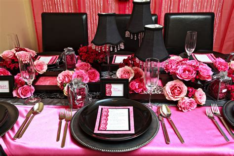 Pink And Black Decorations by Pink And Black Decorations 1 Background Hdblackwallpaper