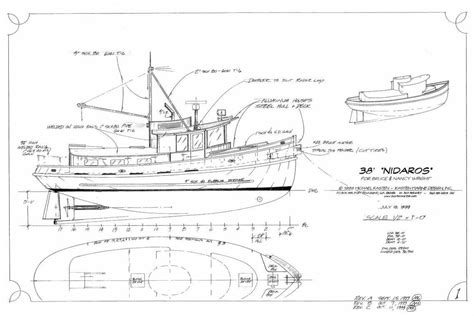 tow boat drawing tow boat plans www topsimages