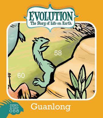 descargar story of life evolution welcome to the museum libro de texto big time attic dino a day 58 guanlong