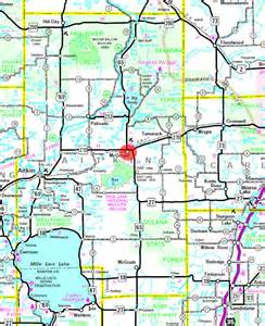 mcgregor map guide to mcgregor minnesota