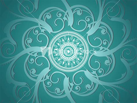 artistic pattern background seagreen background with artistic design