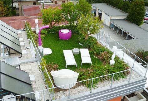 terrazzo verde giardino pensile piante da terrazzo come realizzare un