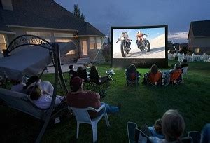 backyard movie projector rental inflatable movie screen houston outdoor movie screen rentals