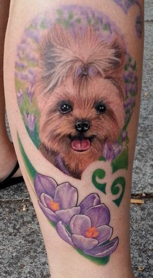 yorkie tattoo pictures de 8 coolest yorkshire terrier tattoo designs in de wereld