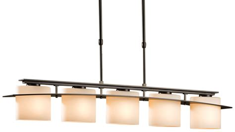 Rectangular Kitchen Island Lighting Hubbardton Forge 137525 Arc Ellipse 60w Transitional Rectangular Kitchen Island Billiard Light