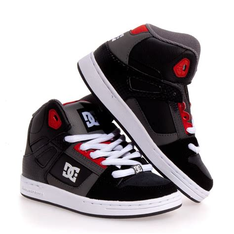 dc shoes boys dc shoes rebound leather skate boy shoes