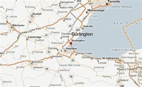 burlington map burlington location guide