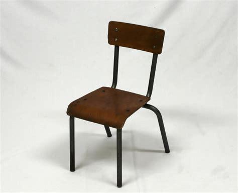 chaise mullca chaise d 233 cole enfant vintage mullca le vintage dans la peau