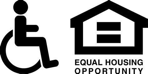 equal opportunity housing equal housing opportunity accessibility logo habitat for humanity of tompkins and