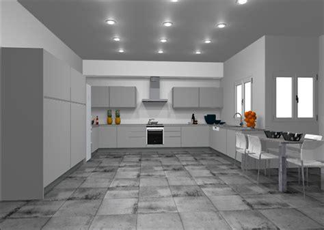 cocinas  muebles de cocina cocina en   puerta croacia laca de color gris claro numero