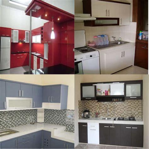 minibar kitchen set minimalis modern harga termurah
