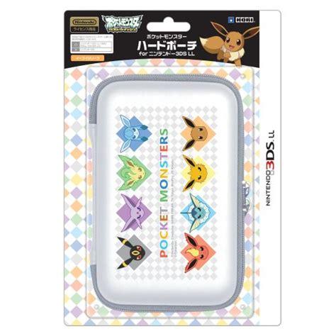 Kotak Cardtrige Nintendo 3ds Edisi Eeve hori nintendo 3ds 3ds xl travel pouch protector ebay