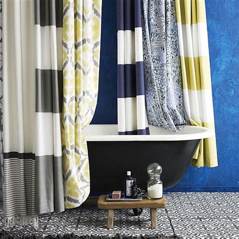 patterned shower curtains the best summer decor finds of the season