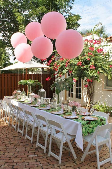 tischdeko party sommerparty deko drei erfrischende und farbenfrohe themen