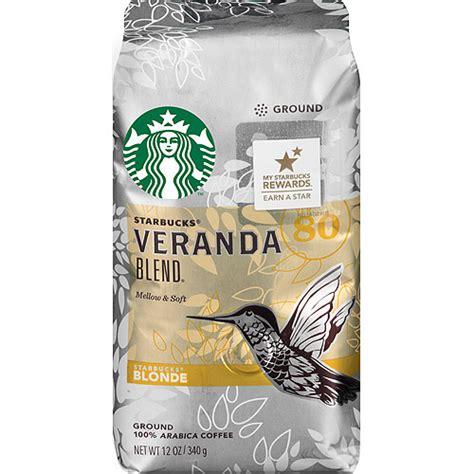 Starbucks Blonde Veranda Blend Ground Coffee, 12 oz   Walmart.com