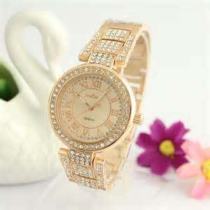 Wholesale Window Boxes - luxury expensive watches women s watch quartz watches rose gold and silver with created diamond