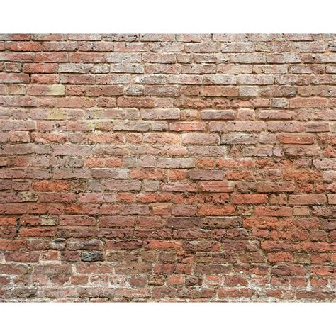 classic brick wall mural wr50503 the home depot
