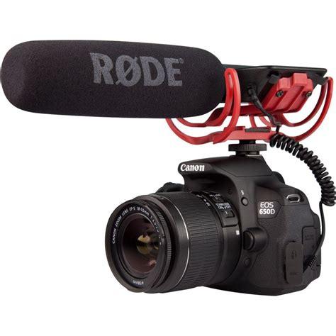 Rode Micro Microphone Untuk Kamera Dslr 1 rode videomic r with rycote shock mount matter