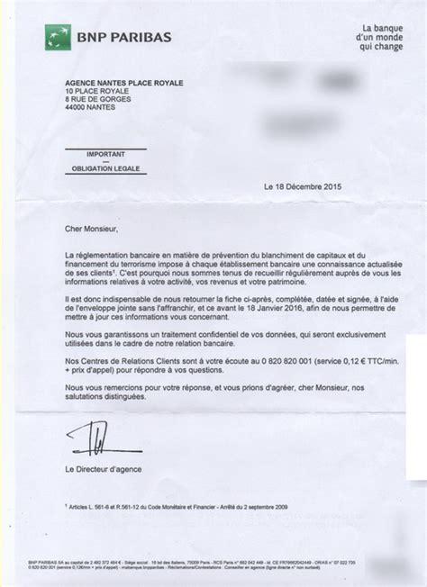 Lettre De Garantie Bancaire Pour Visa demande d information de la bnp protection juridique