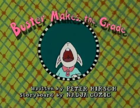 image buster makes the grade title card.png arthur wiki