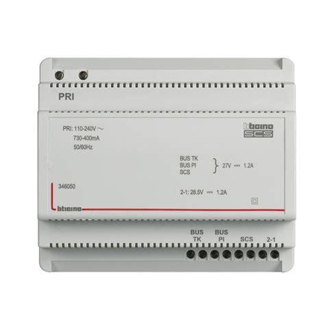 alimentatore videocitofono bticino bticino 346050 alimentatore audio con adattatore