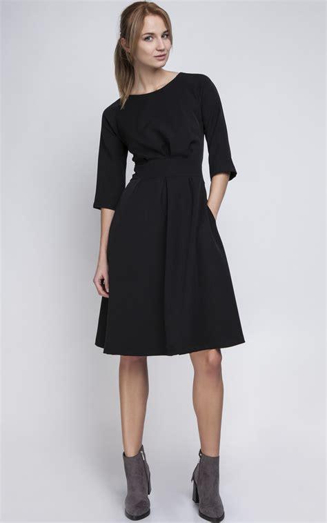 Sweater Line You Me Black Diskon black a line midi dress silkfred