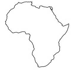 africa map black best photos of africa map outline and white africa map