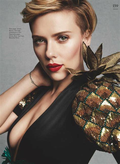 scarlett johansson scarlett johansson marie claire magazine uk may 2017 issue