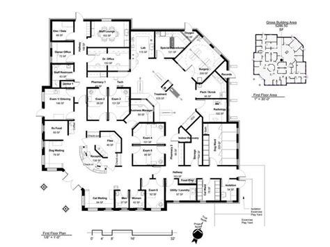 floor plan hospital 8 best vet office floor plans images on pinterest